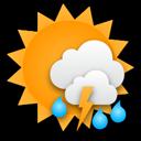 Gewitter möglich